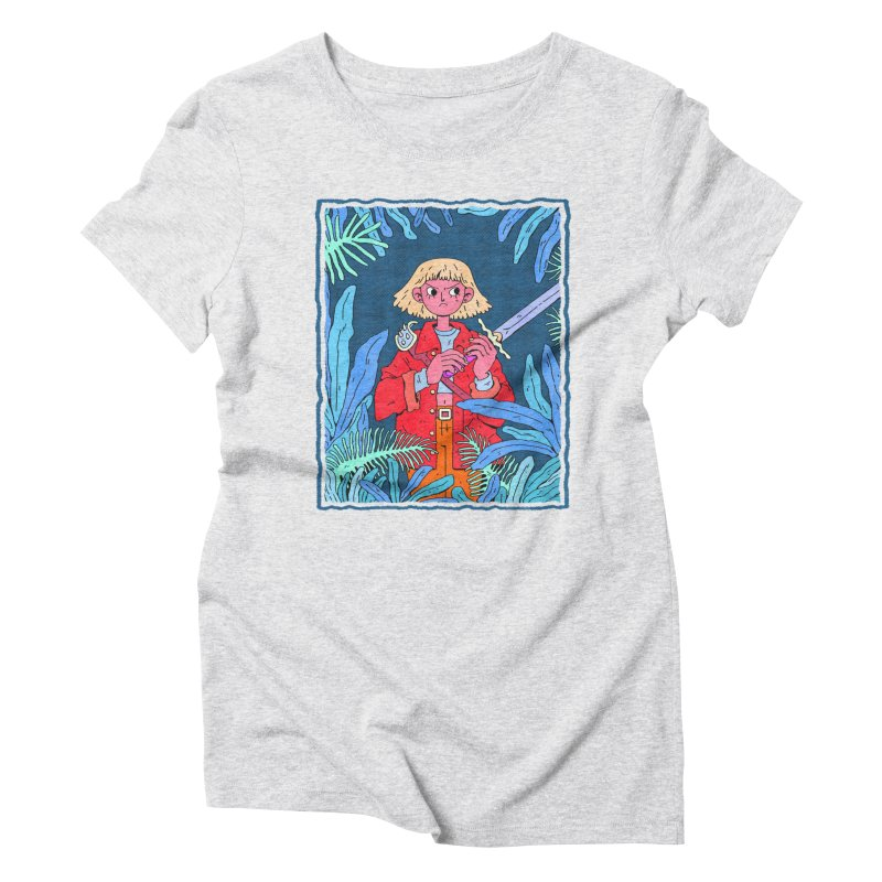 Fearless Women's T-Shirt by Ree Artwork