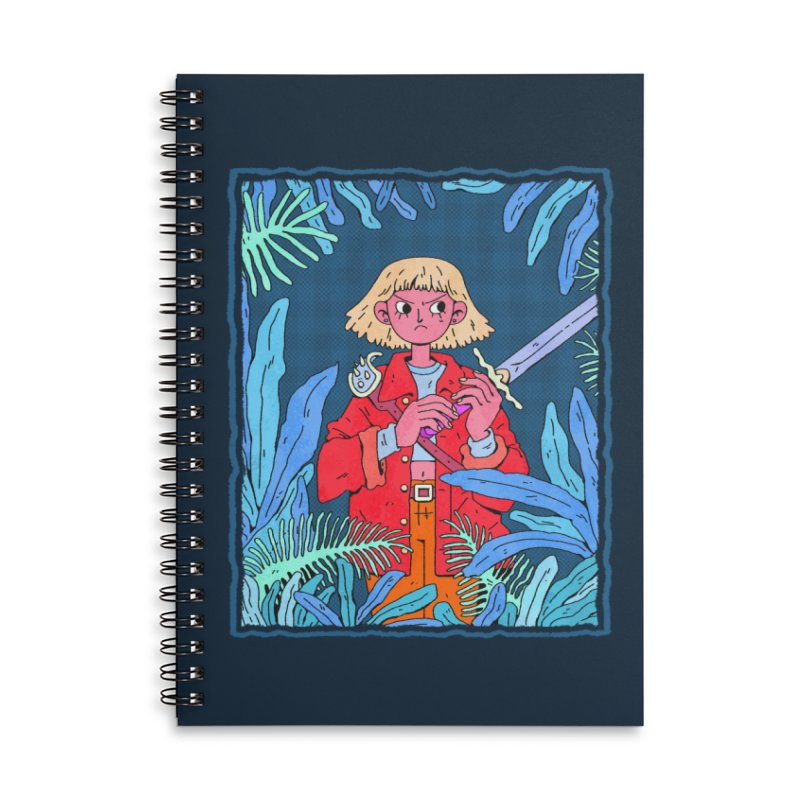 Fearless Accessories Notebook by Ree Artwork