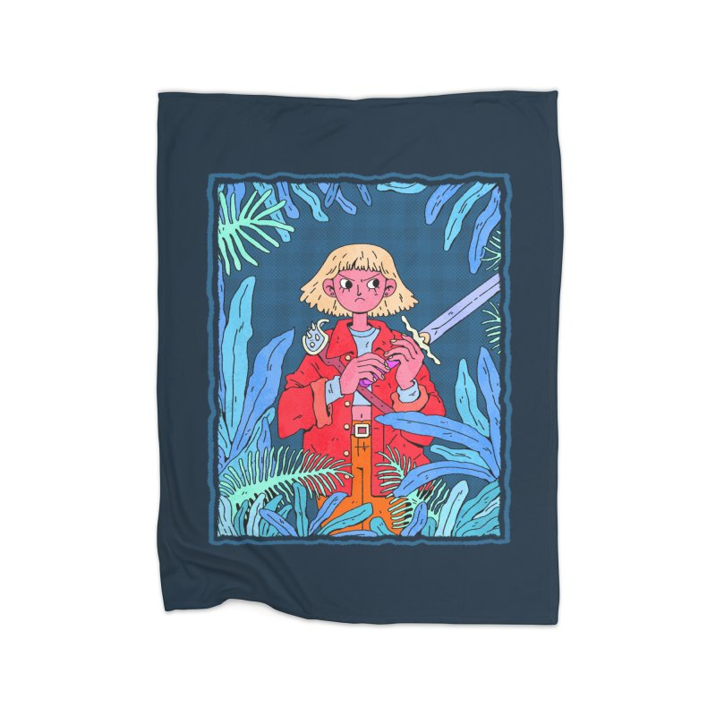 Fearless Home Blanket by Ree Artwork