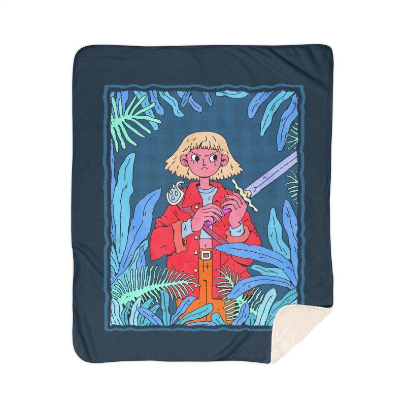 Fearless Home Sherpa Blanket Blanket by Ree Artwork