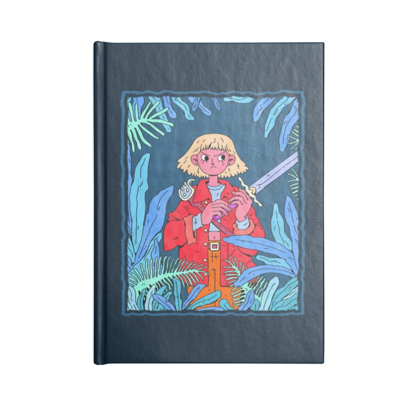 Fearless Accessories Blank Journal Notebook by Ree Artwork