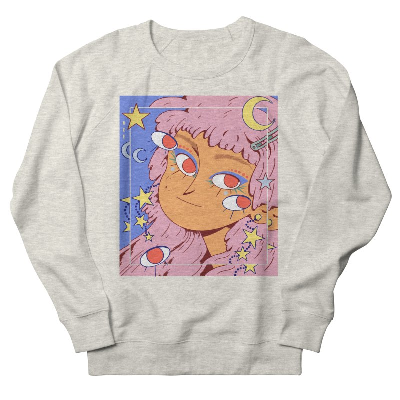 Starry Men's Sweatshirt by Ree Artwork