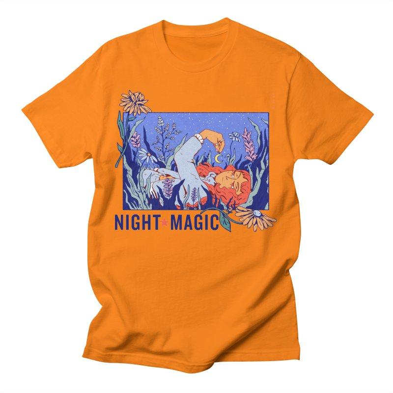 Night Magic Men's T-Shirt by Ree Artworks