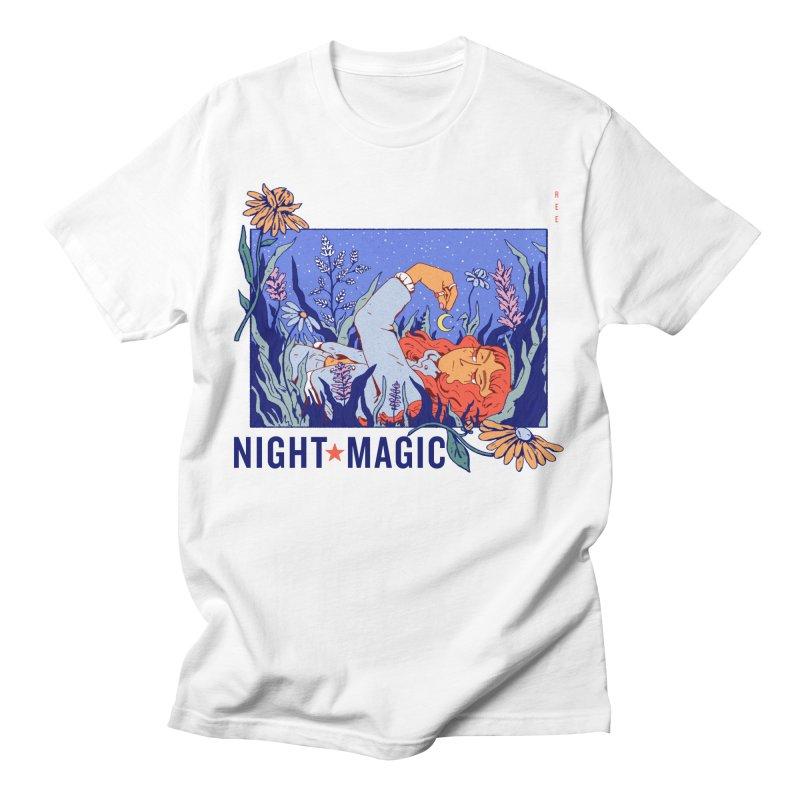 Night Magic Women's T-Shirt by Ree Artwork