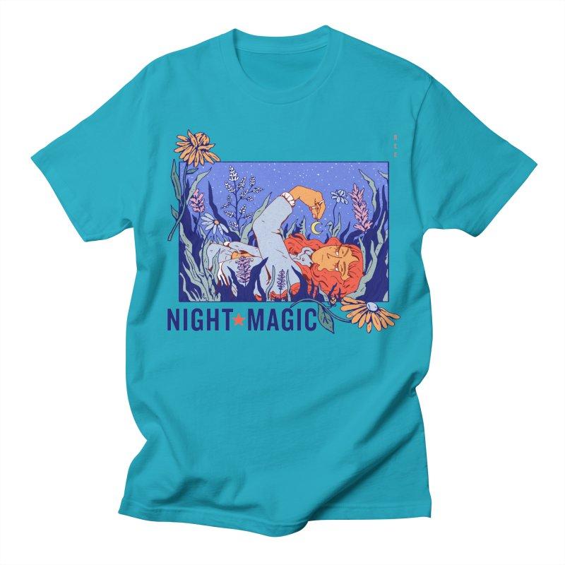 Night Magic Men's Regular T-Shirt by Ree Artwork