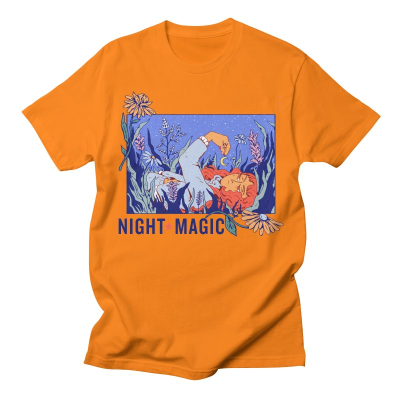 Night Magic Men's T-Shirt by Ree Artwork