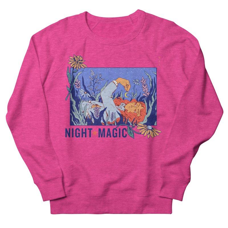 Night Magic Women's Sweatshirt by Ree Artwork