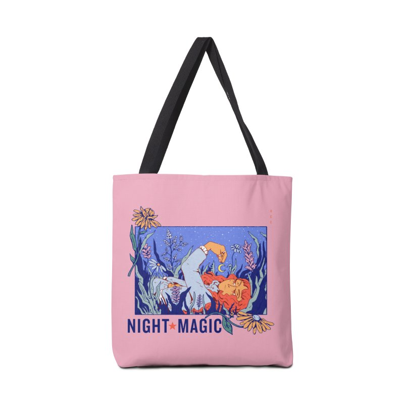 Night Magic Accessories Tote Bag Bag by Ree Artwork