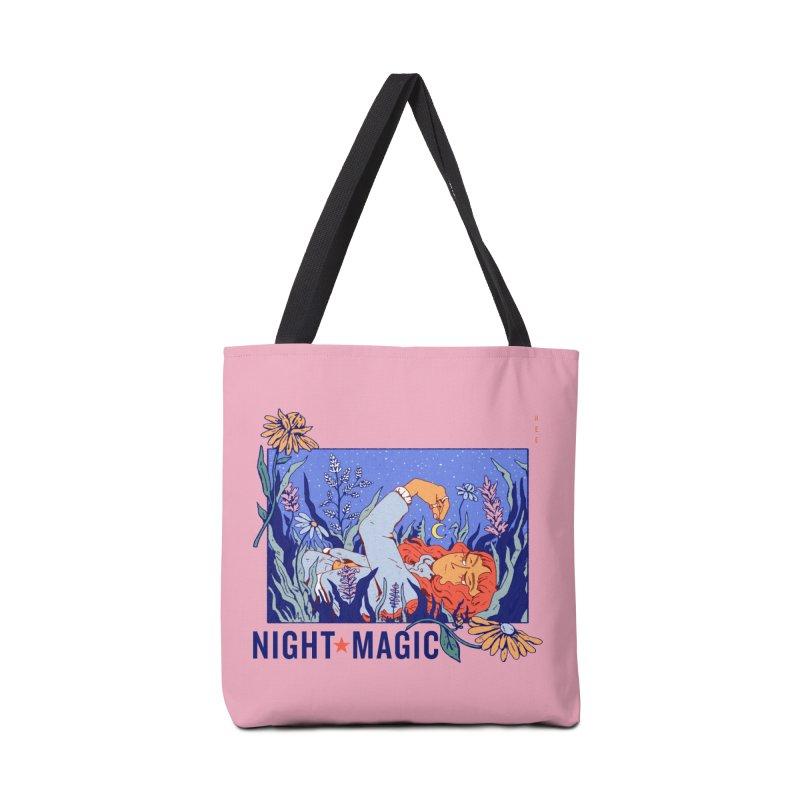 Night Magic Accessories Bag by Ree Artwork