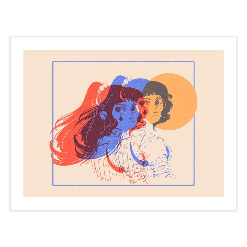 Tear ~ Home Fine Art Print by Ree Artwork