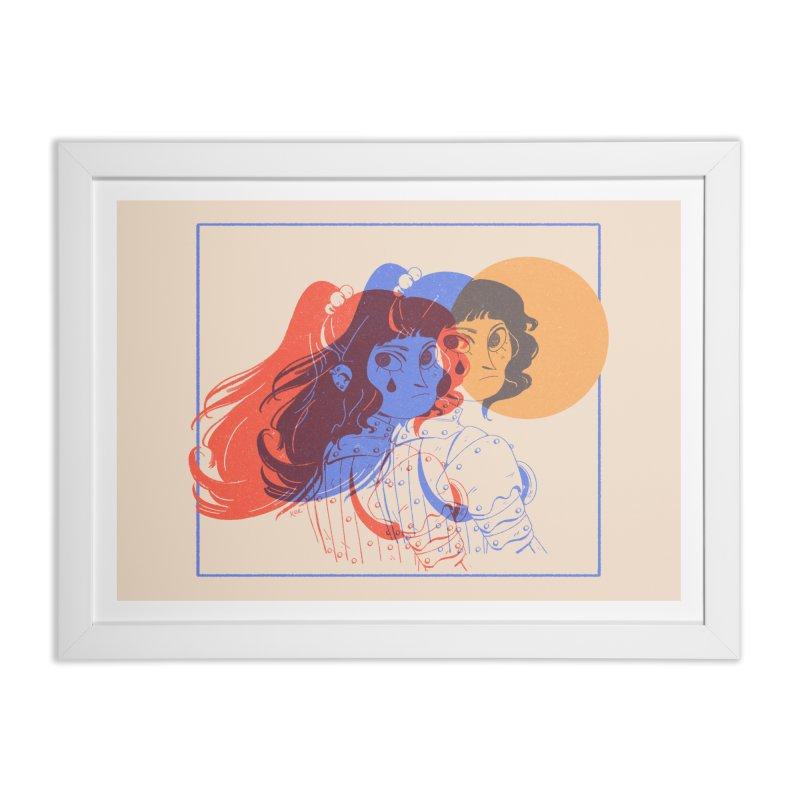 Tear ~ Home Framed Fine Art Print by Ree Artwork