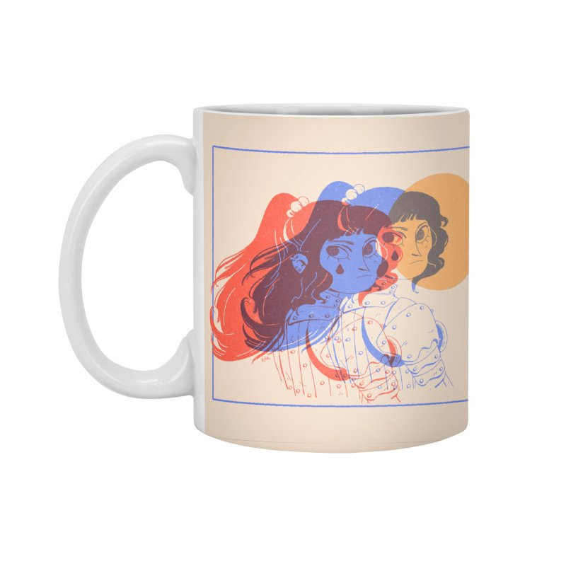 Tear ~ Accessories Standard Mug by Ree Artwork