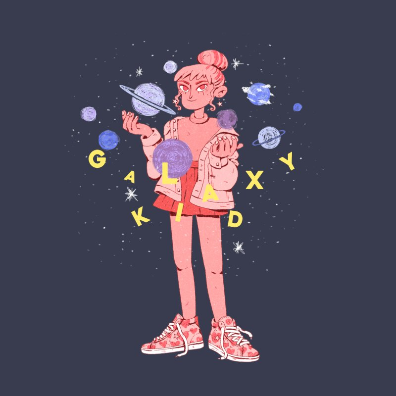 Galaxy Kid Women's T-Shirt by Ree Artwork