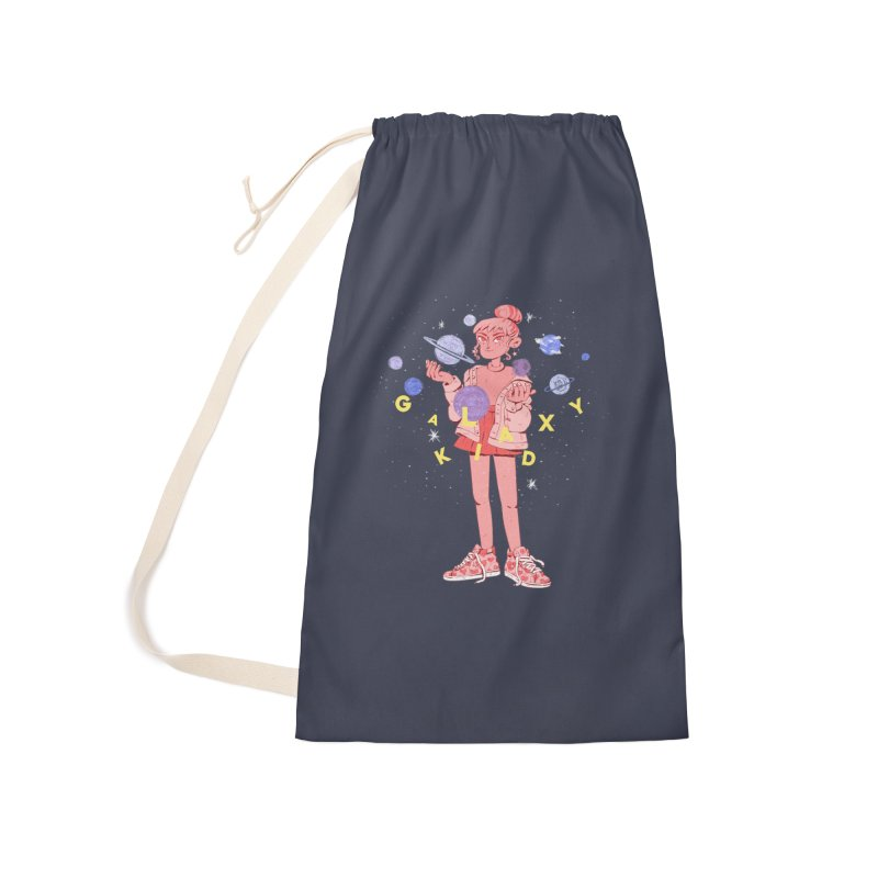 Galaxy Kid Accessories Bag by Ree Artwork