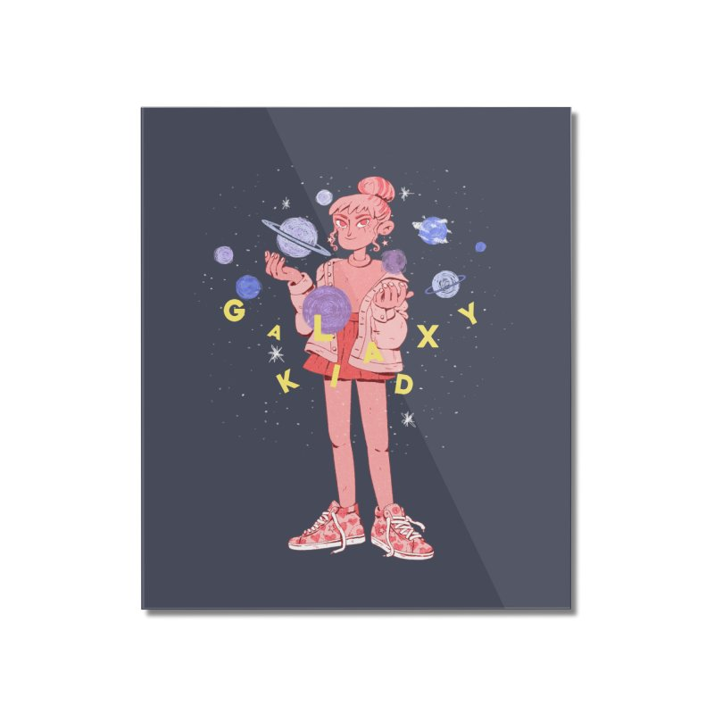 Galaxy Kid Home Mounted Acrylic Print by Ree Artwork