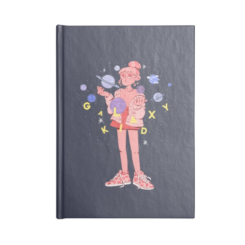 Galaxy Kid Accessories Blank Journal Notebook by Ree Artwork