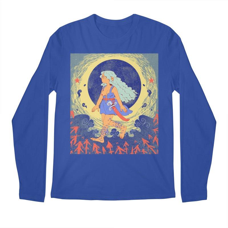Rusalochka Men's Regular Longsleeve T-Shirt by Ree Artwork