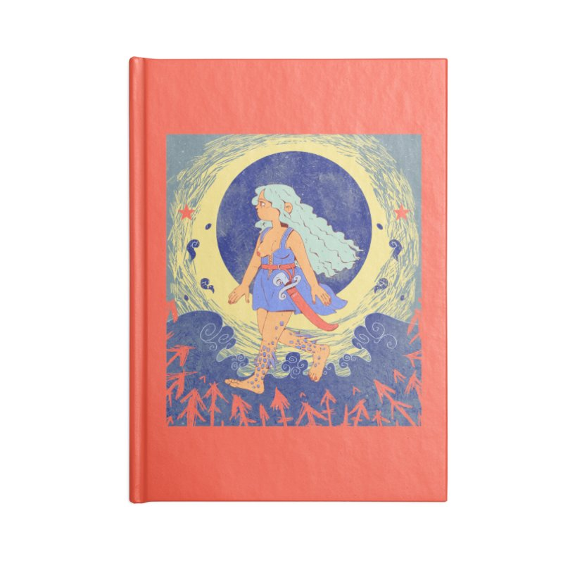 Rusalochka Accessories Blank Journal Notebook by Ree Artwork