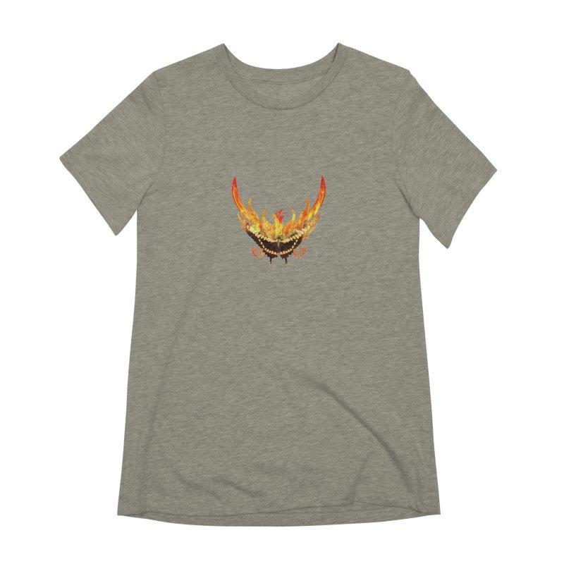 Phoenix butterfly Women's Extra Soft T-Shirt by ReiLuzardo's Artist Shop