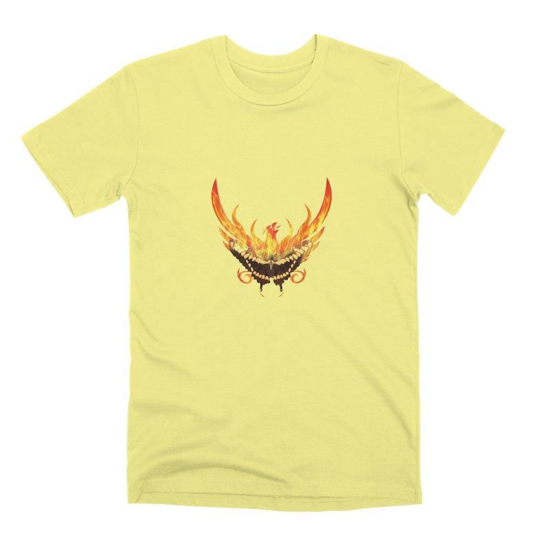 Phoenix butterfly Men's Premium T-Shirt by ReiLuzardo's Artist Shop