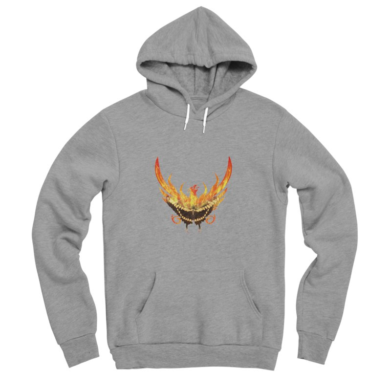 Phoenix butterfly Women's Sponge Fleece Pullover Hoody by ReiLuzardo's Artist Shop