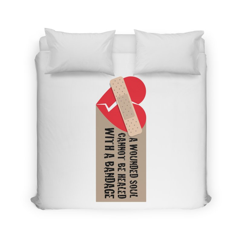 Bandages and broken hearts Home Duvet by ReiLuzardo's Artist Shop