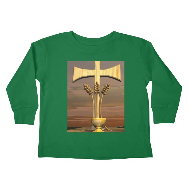 Bread of Life Kids Toddler Longsleeve T-Shirt by ReiLuzardo's Artist Shop