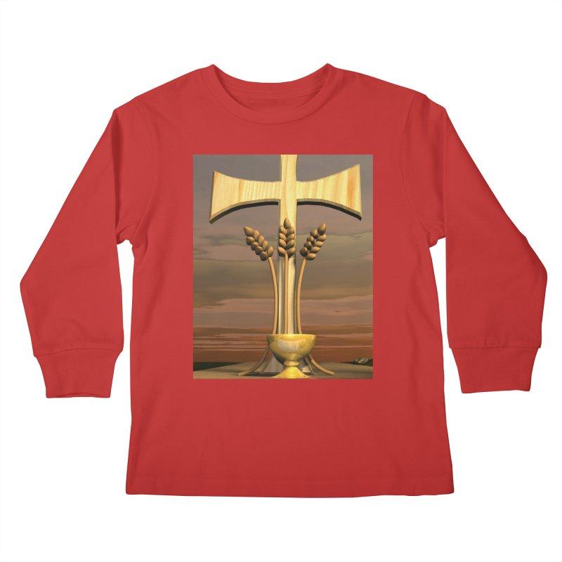 Bread of Life Kids Longsleeve T-Shirt by ReiLuzardo's Artist Shop
