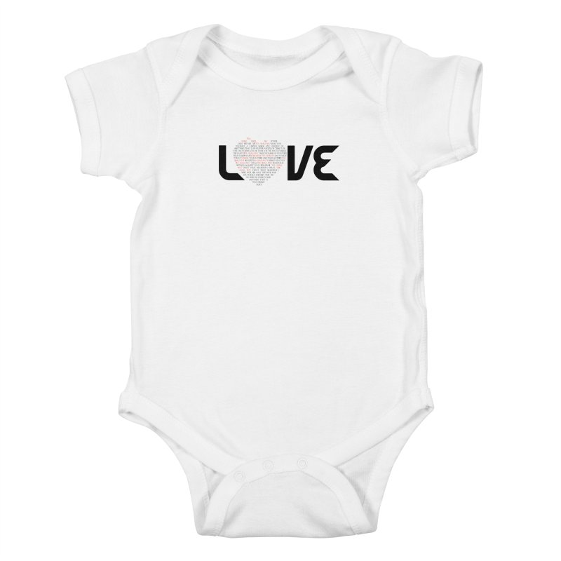10 Commandments Kids Baby Bodysuit by ReiLuzardo's Artist Shop