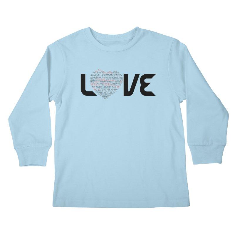 10 Commandments Kids Longsleeve T-Shirt by ReiLuzardo's Artist Shop