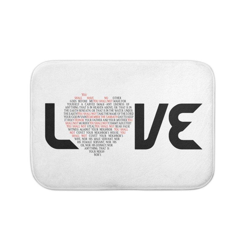 10 Commandments Home Bath Mat by ReiLuzardo's Artist Shop