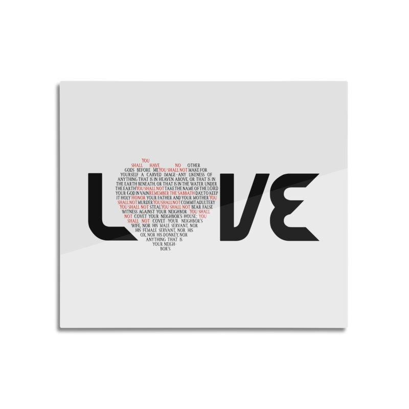 10 Commandments Home Mounted Acrylic Print by ReiLuzardo's Artist Shop