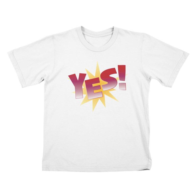 yes! Kids T-Shirt by ReiLuzardo's Artist Shop