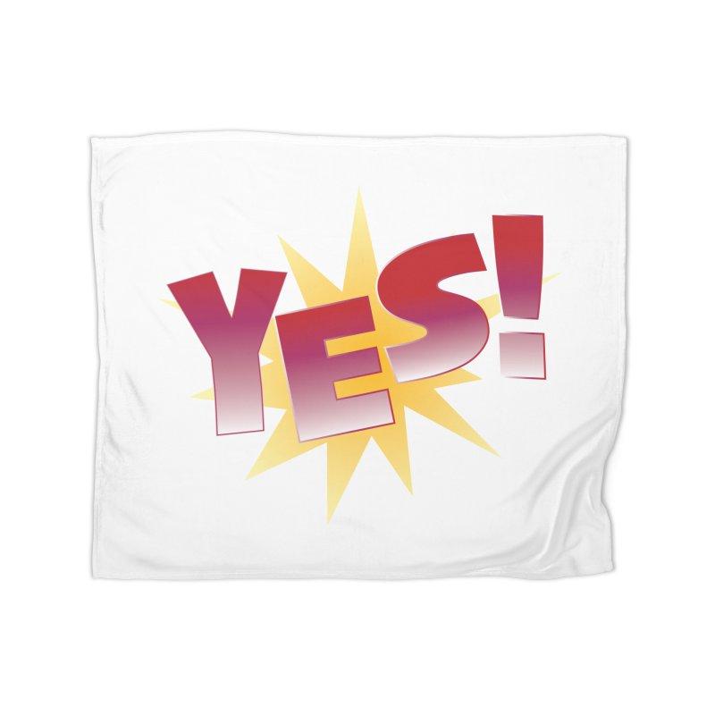 yes! Home Fleece Blanket Blanket by ReiLuzardo's Artist Shop