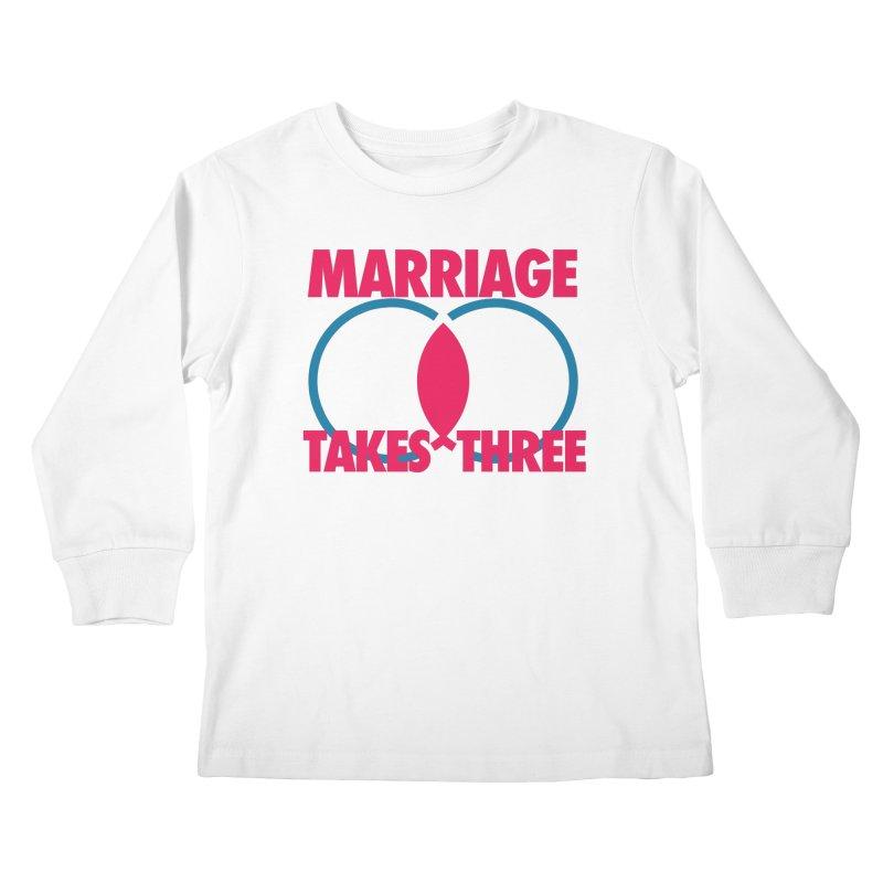 It takes 3 (version 2) Kids Longsleeve T-Shirt by ReiLuzardo's Artist Shop