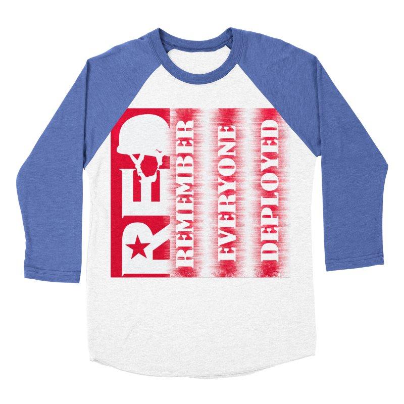 RED Friday Men's Baseball Triblend Longsleeve T-Shirt by ReiLuzardo's Artist Shop