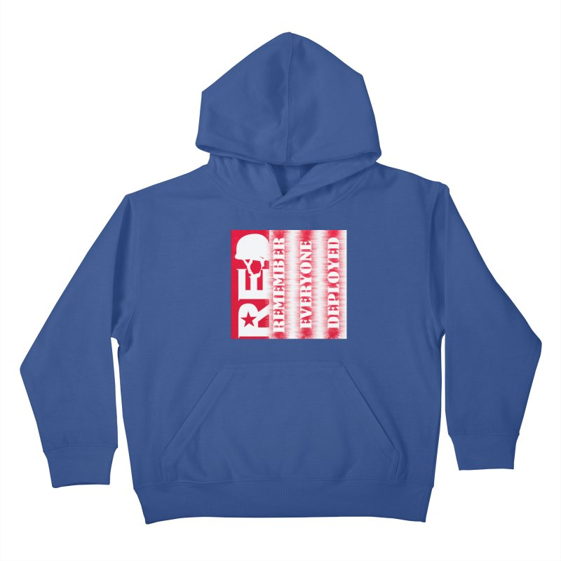 RED Friday Kids Pullover Hoody by ReiLuzardo's Artist Shop