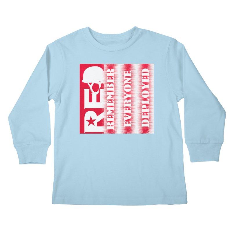 RED Friday Kids Longsleeve T-Shirt by ReiLuzardo's Artist Shop