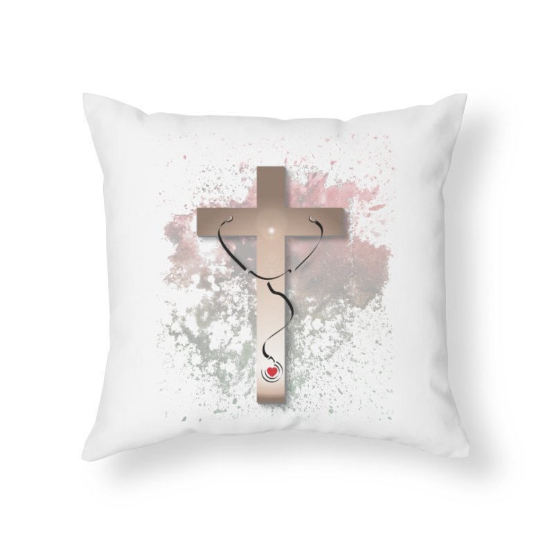 Those who are well do not need a doctor Home Throw Pillow by ReiLuzardo's Artist Shop