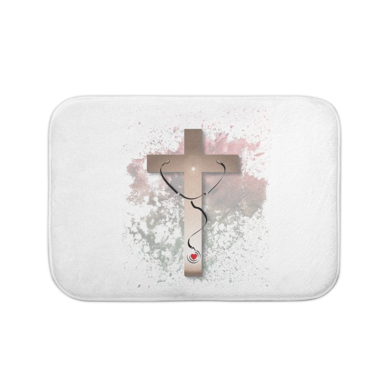 Those who are well do not need a doctor Home Bath Mat by ReiLuzardo's Artist Shop