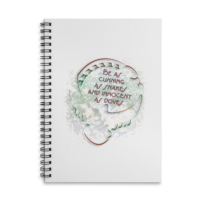 Clever Accessories Lined Spiral Notebook by ReiLuzardo's Artist Shop
