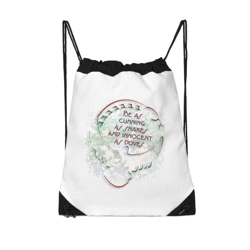 Clever Accessories Drawstring Bag Bag by ReiLuzardo's Artist Shop
