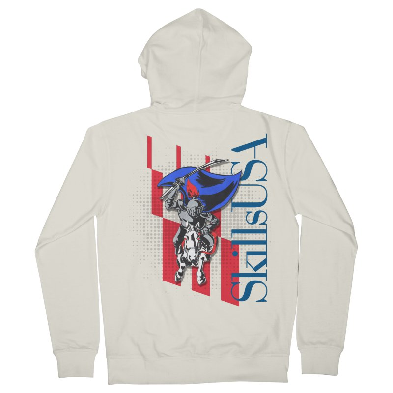 NMB SkillsUSA Chargers Men's French Terry Zip-Up Hoody by ReiLuzardo's Artist Shop