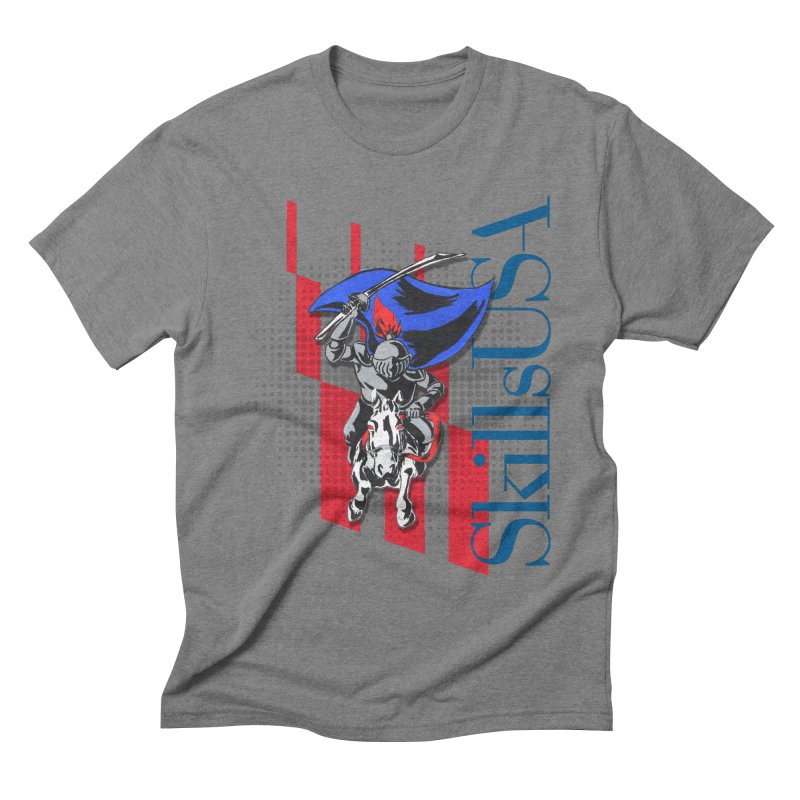 NMB SkillsUSA Chargers Men's Triblend T-Shirt by ReiLuzardo's Artist Shop