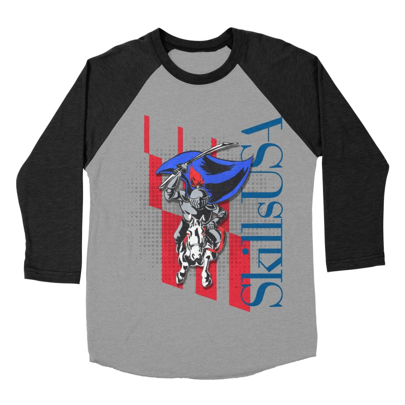 NMB SkillsUSA Chargers Men's Baseball Triblend Longsleeve T-Shirt by ReiLuzardo's Artist Shop