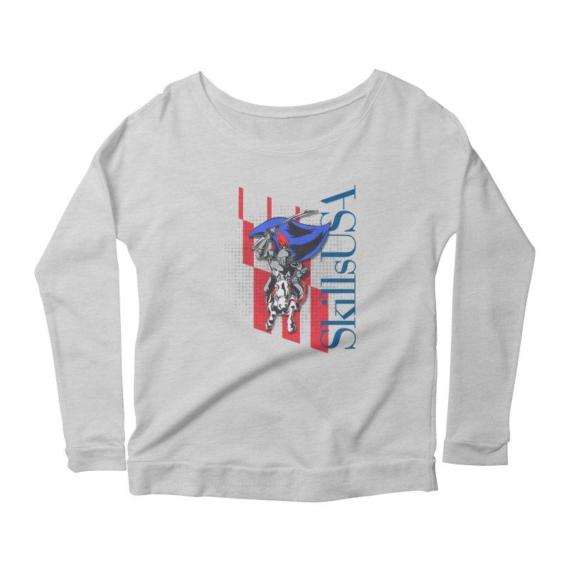 NMB SkillsUSA Chargers Women's Scoop Neck Longsleeve T-Shirt by ReiLuzardo's Artist Shop