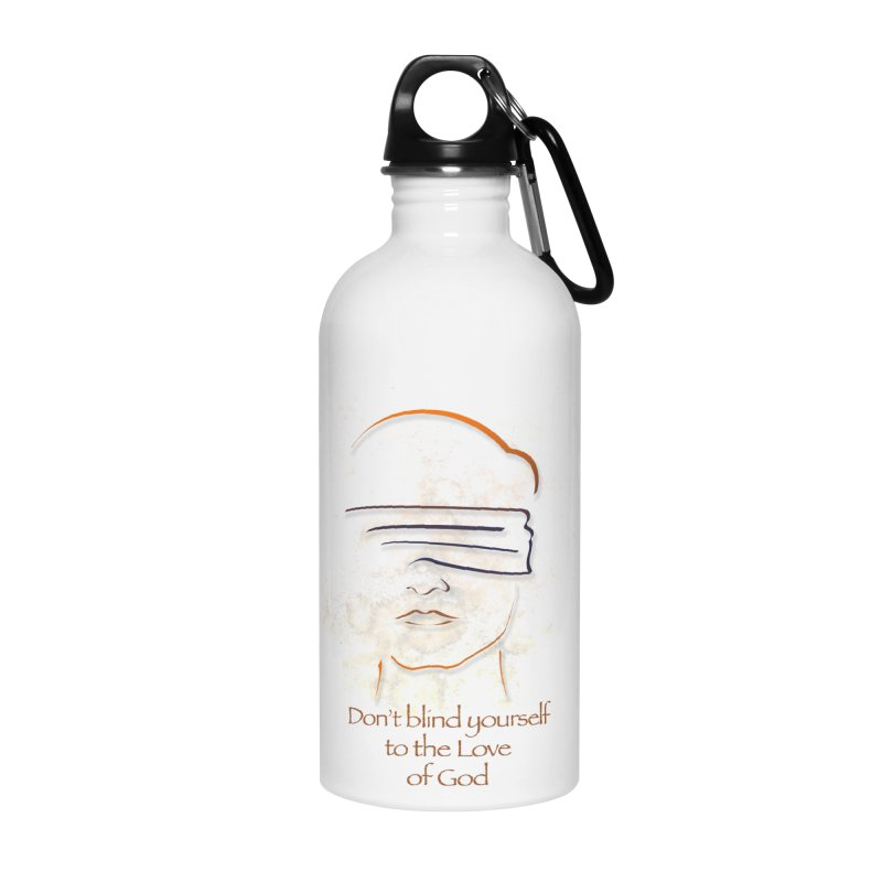 Don't blindfold yourself Accessories Water Bottle by ReiLuzardo's Artist Shop