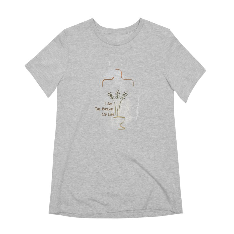 Jesus the bread of life Women's Extra Soft T-Shirt by ReiLuzardo's Artist Shop