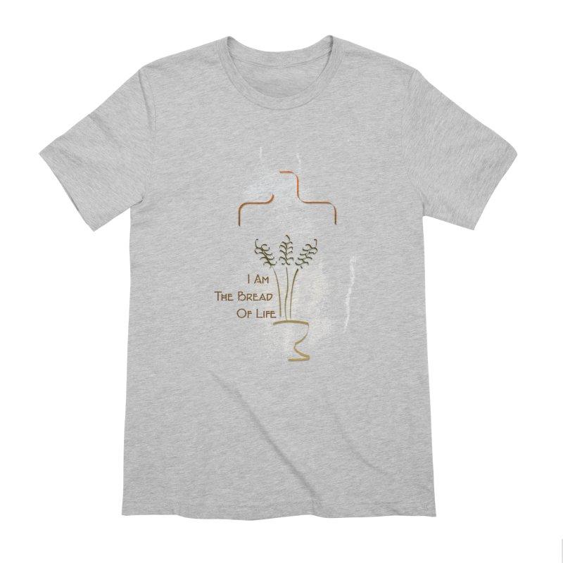 Jesus the bread of life Men's Extra Soft T-Shirt by ReiLuzardo's Artist Shop