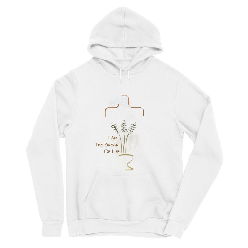 Jesus the bread of life Women's Sponge Fleece Pullover Hoody by ReiLuzardo's Artist Shop